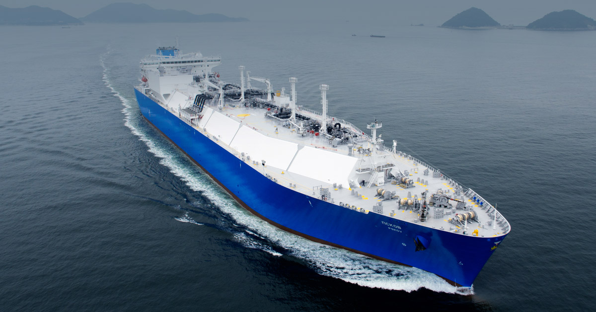 State-of-the-art LNG carriers